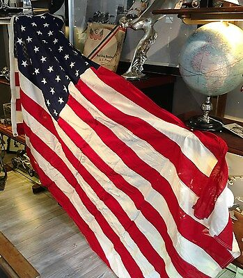 Stars and Stripes,US Flagge, 48 Stars, orig.Verpackung,30/40er Jahre,243 x 152cm
