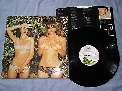 ROXY MUSIC<country life>1974 -FIRST UK PRESS -PINK RIM ISLAND LAB (A3;B1) -EX+