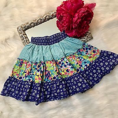 The Children's Place Tiered Skirt Girls Size 6X/7 Blue