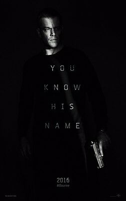 Jason Bourne 5 - original DS movie poster - 27x40 D/S Advance