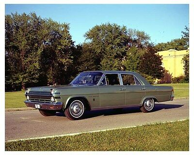 1966 AMC Rambler Ambassador 990 Factory Photo uc2688