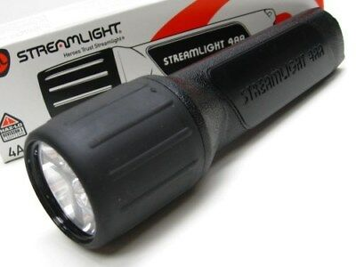 STREAMLIGHT Black Impact Resistance PROPOLYMER 4AA LED Flashlight Light! 68300
