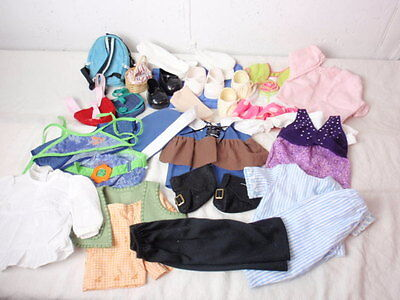 """Lot 35 Pieces 18"""" Doll Clothes Accessories 1990s Hand Made BATTAT THT Outfits"""