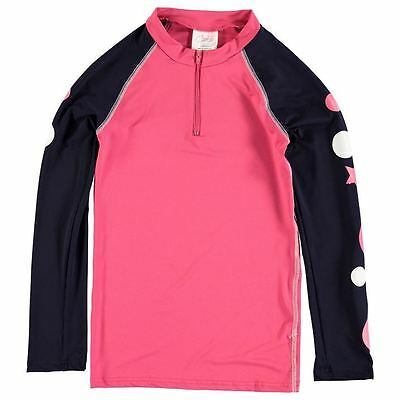 Carrots Kids Cross Country Top Junior Girls Lightweight Long Sleeve Equestrian