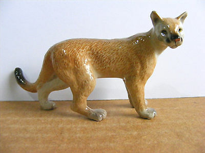 Northern Rose Mountain Lion Miniature Animal Figurine Cougar Wildlife Rehab