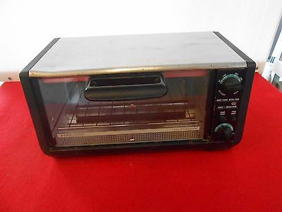 Black & Decker Spacemaker Under Cabinet Toaster Oven Usa Made Works Tro 430 Ty1