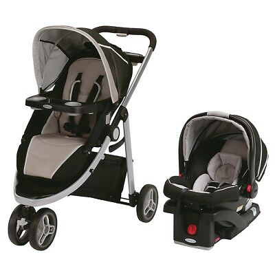 Graco Modes Sport Travel System with SnugRide Click Connect 35 Infant Car Seat -