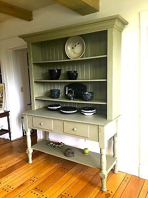 French style FARMHOUSE HUTCH/ CABINET