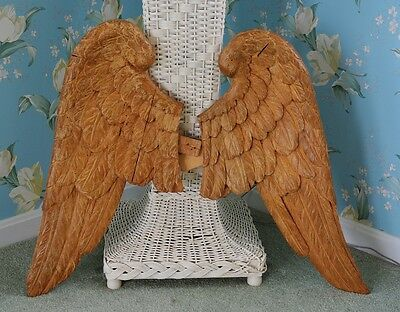 Georgian French Carved Wood Gilded Angel Wings ~ ON SALE