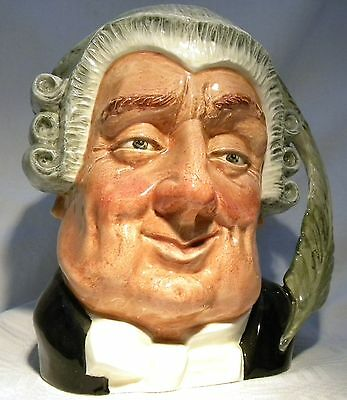 Royal Doulton Large Character Jug The Lawyer D6498