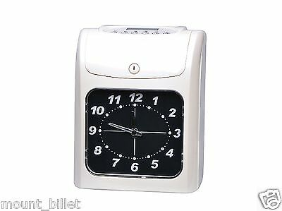 Electronic Employee analogue Time Recorder Time Clock w/Card