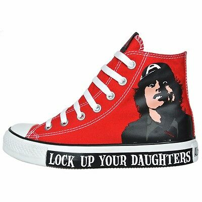 Details about Converse Chucks ACDc Acdc Eu 46 UK 11,5 Black Dirty Deeds Shoes Limited