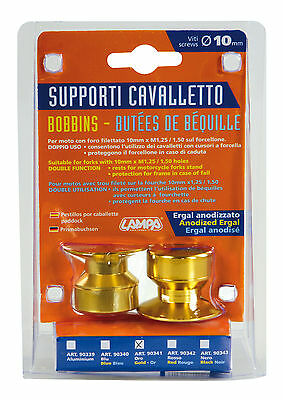 Kit Supporti Cavalletto - 10 Mm - Oro Lampa