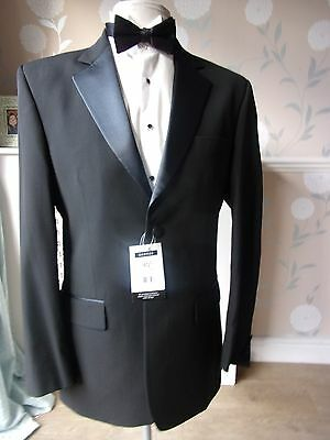 Mens Superb Single Breasted BNWT GEORGE Tuxedo Dinner Suit  40 Reg