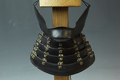 Japanese Early Edo Samurai Iron Armor Yoroi Menpo Mask M088