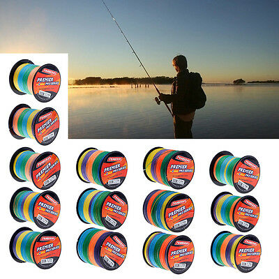 300M Super Strong PE Multifilament Braided Fishing Line 4 Strands Cord 6LB-100LB