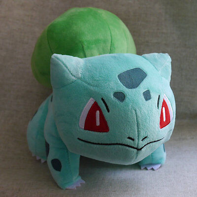 "NEW POKEMON Center Bulbasaur 12"" Large PLUSH DOLL"