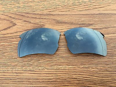 Inew Black Iridium polarized Replacement Lenses for Oakley Flak 2.0 XL