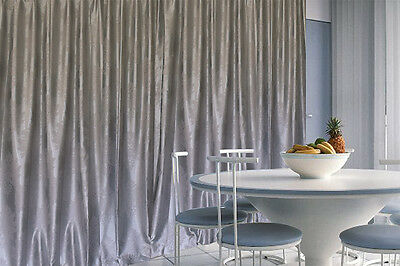Blockout Curtains 580x230cm PINCH PLEAT 2 panel Blackout High Level Fabric
