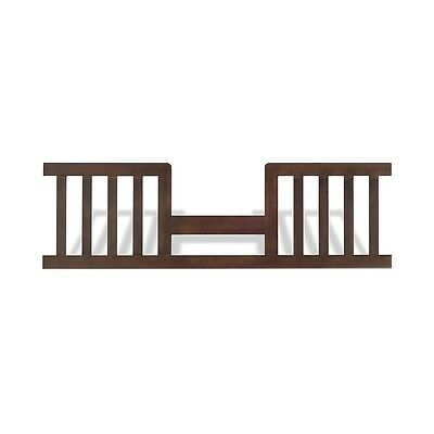 Child Craft Toddler Guard Rail for Abbott Convertible Crib - Rich Walnut