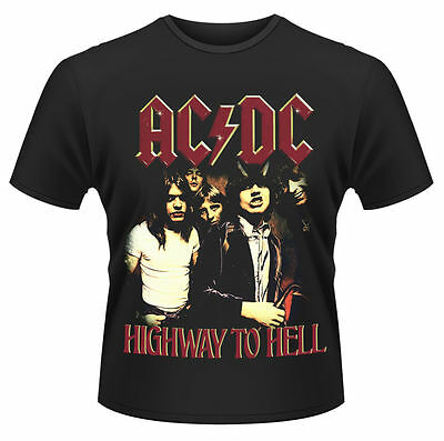 AC/DC T Shirt Highway To Hell Black Officially Licensed Mens Classic Rock Merch
