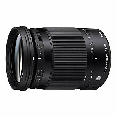 Sigma 18-300mm F3.5-6.3 DC Macro OS HSM Contemporary Lens for Nikon SLR Cameras