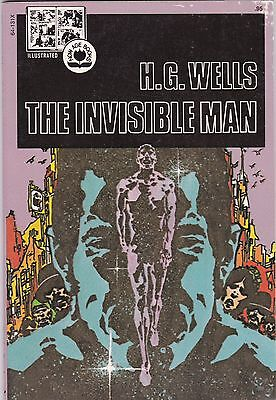 1974 The Invisible Man H.G. Wells Pendulum Press Illustrated Now Age Book