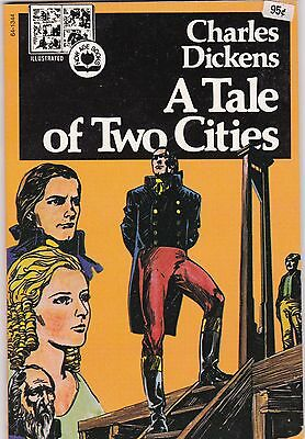 1974 A Tale of Two Cities Dickens Pendulum Press Illustrated Now Age Book
