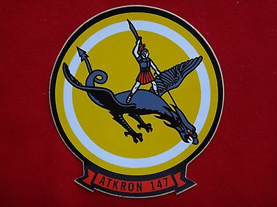 US Navy Attack Squadron ATKRON-147 Decal Sticker *Never Used*