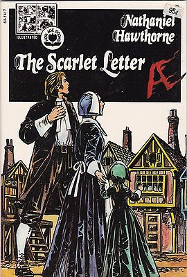 1974 The Scarlett Letter Hawthorne Pendulum Press Illustrated Now Age Book