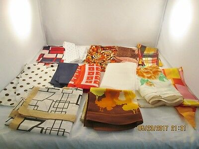 Vintage Assortment of Scarves, Wraps and Head Bands