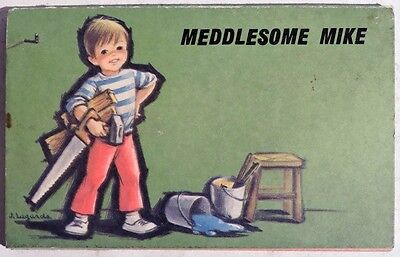 ESS241. Vintage MEDDLESOME MIKE Softcover Published by Brown Watson, Ltd. (1965)