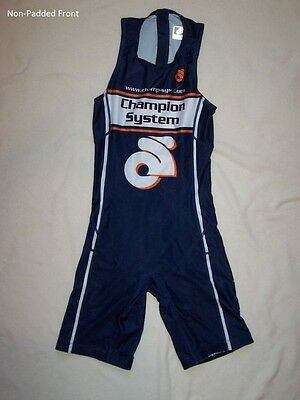 NEW - Champion-System Team, Men's Tri Suit, Blue (Select Size & Style)