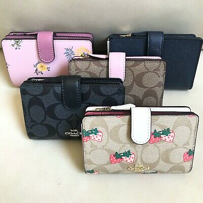 NEW Michael Kors Jet Set Saffiano Leather PVC Carryall Wallet Various Colors