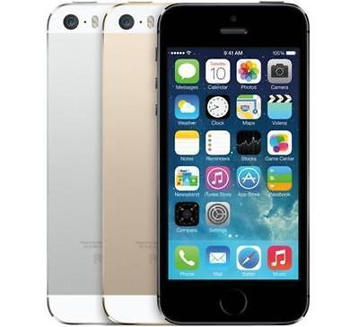 """Apple iPhone 5S 16/32/64 GB GSM """"Factory Unlocked"""" Smartphone Gold Gray Silver"""