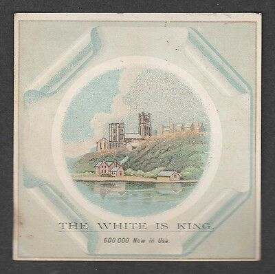 Victorian Trade Card White's Sewing Machines