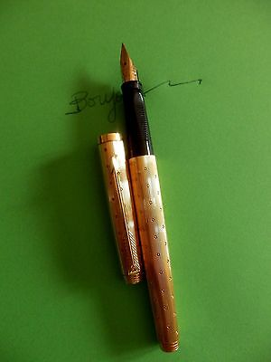 Stylo Plume Or Parker - Perle - Annee 80
