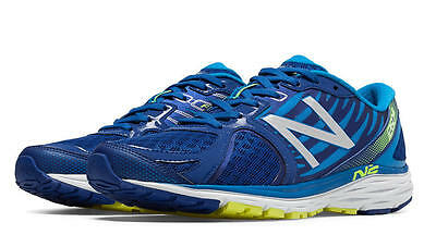 New Balance 1260V5 Men's Road Shoes, Blue with Bright Blue