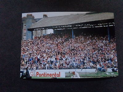 """CHELSEA SHED END Stamford Bridge  1970s ?        6""""x4""""  REPRINT"""
