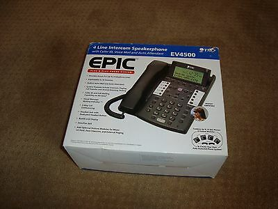 TMC EV4500 4-Line System Phone w/ Voicemail and caller ID,  NIB NEW