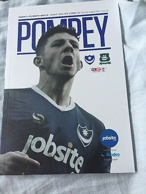 Portsmouth V Plymouth 14th April 2017 English League Two