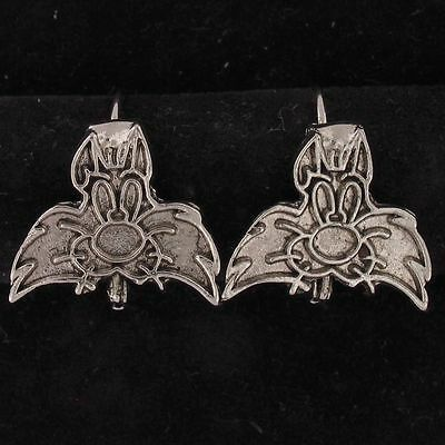 EARRINGS Sylvester The Cat WARNER BROS LOONEY TUNES Silver FACE WB STORE 5138