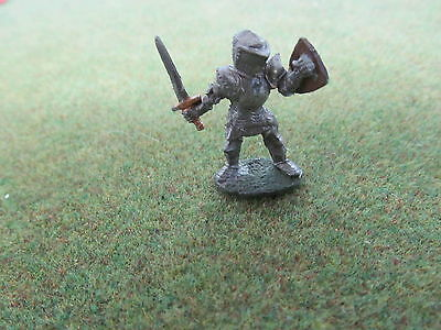 Ral Partha oop painted metal Knight Paladin w sword and shield