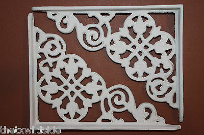 (2),dutch Decor,antique Look,corbels, Shelf Brackets, Country Decor,white, B-30