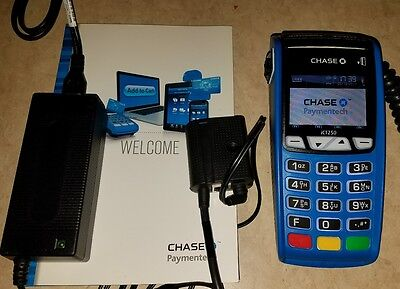 Chase Ingenico iCT250 Paymentech Credit Card Terminal