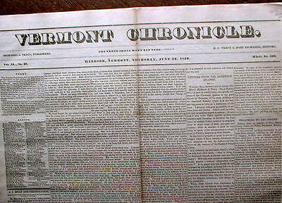 1836 newspaper CHARLESTON South Carolina SLAVE MARKET relocated from public view