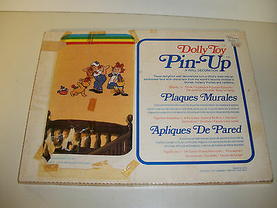 Vintage The Dolly Toy Co -Raggedy Ann and Andy - Wall Hangings Pin Up Decoration