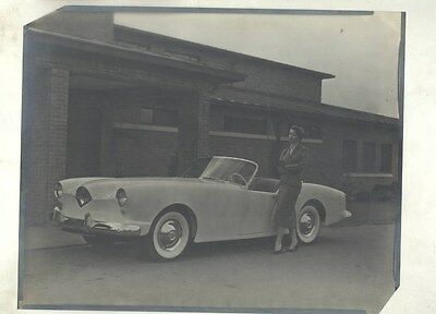 1954 Kaiser Darrin ORIGINAL Factory Photograph Negative ww9424