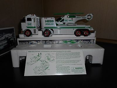 2006 Hess Toy Truck And Helicopter In Mint Condition