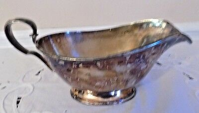 Poole Silver Co. Silverplated Gravy Boat